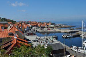 Danmarks eneste bjergby