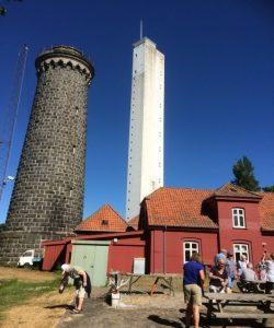 Natos spioncentral. Vi kommer op i det 70 meter høje tårn med en meget speciel topsikret elevator.